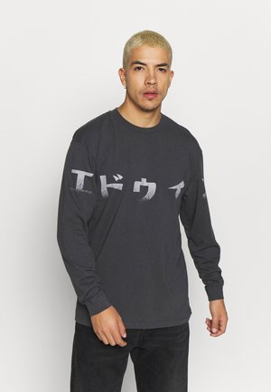 IMPRINT - Long sleeved top - ebony