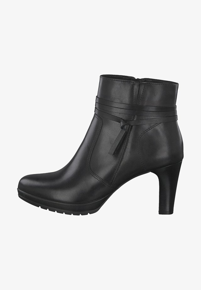 Korte laarzen - black uni