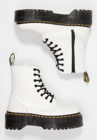 Dr. Martens - JADON ZIP - Bottines à plateau - white - 3
