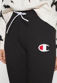 Champion Rochester - CUFF PANTS - Tracksuit bottoms - black - 4