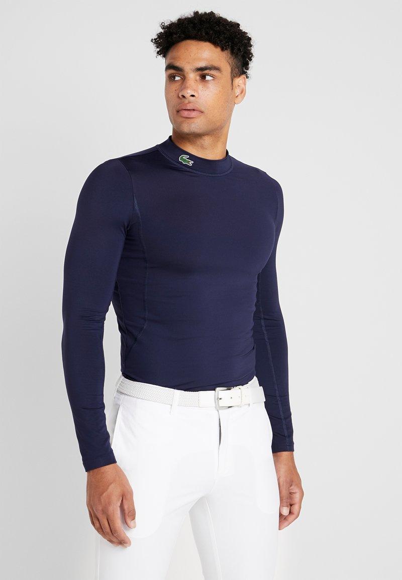 Lacoste Sport - UNDERLAYER - Funktionströja - navy blue