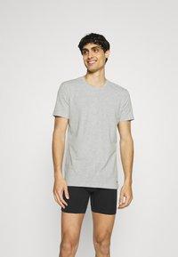 Nike Underwear - CREW NECK 2 PACK - Hemd - grey - 0