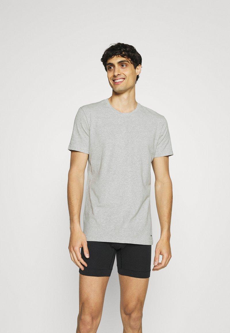 Nike Underwear - CREW NECK 2 PACK - Hemd - grey