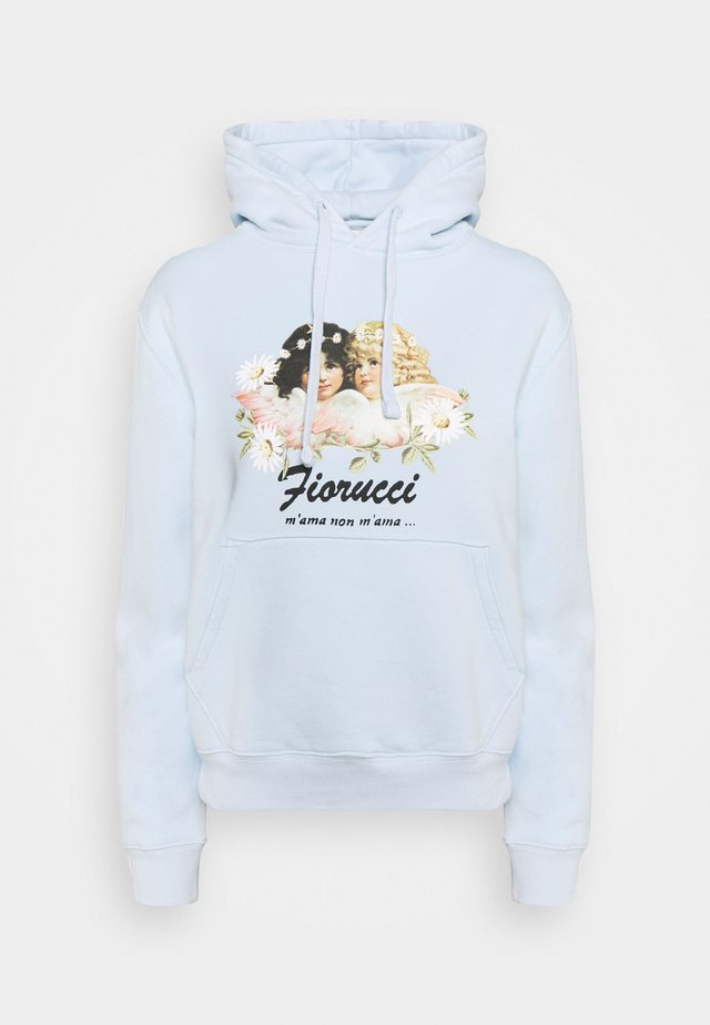 DAISY ANGELS HOODIE - Sweater - pale blue