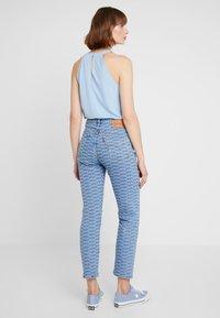 Levi's® - 501 CROP - Jeans Skinny Fit - light-blue denim/blue denim - 2