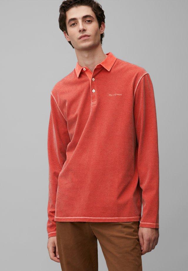 Polo shirt - multi/brick