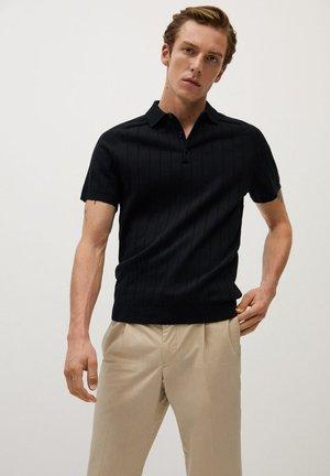 Poloshirts - svart