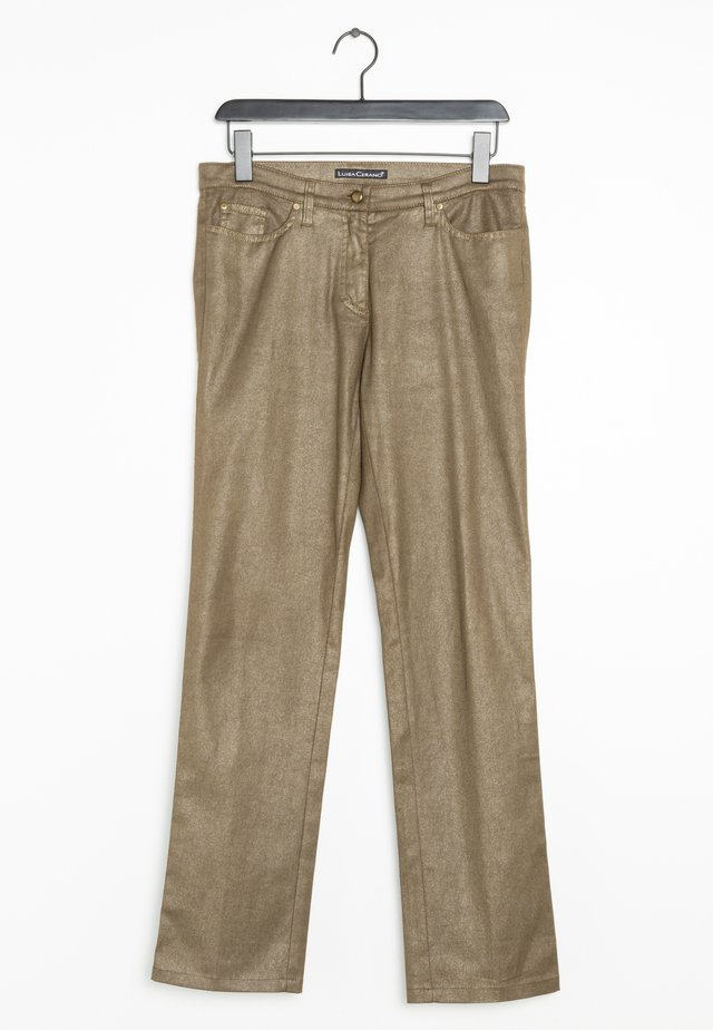 Straight leg jeans - brown