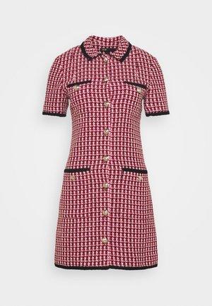 RENALT - Shift dress - fuchsia