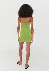 PULL&BEAR - Shift dress - light green - 2