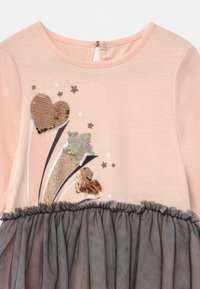 Billieblush - Jerseykleid - pink/charcoal grey - 2