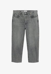 Mango - Straight leg jeans - grijs denim - 5