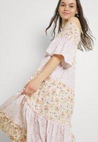 River Island - BARDOT MIDI DRESS - Robe longue - pink - 4
