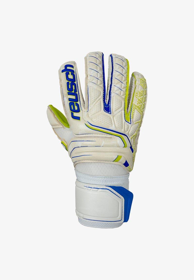 Reusch - Goalkeeping gloves - weissblaugelb