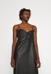 MM6 Maison Margiela - DRESS - Shift dress - black - 3