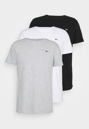 SPECIAL 3 PACK - T-shirt basique - schwarz