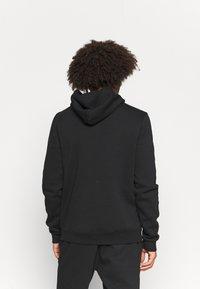 Reebok - HOODIE - Sweatshirt - black/white - 2