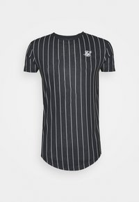 SIKSILK - PINSTRIPE TEE - Print T-shirt - black - 3