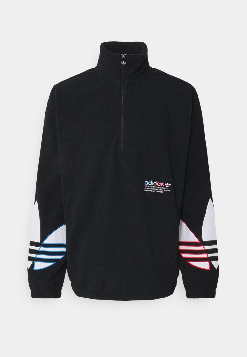 adidas Originals - TRICOL UNISEX - Fleecepaita - black