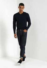 Jack & Jones - JJEBASIC  - Maglione - navy blazer - 1