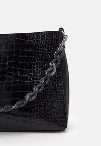 HVISK - AMBLE CROCO - Handbag - black - 5