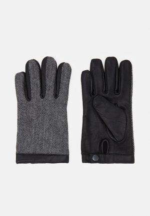 JACDAVID GLOVES - Guanti - light grey melange