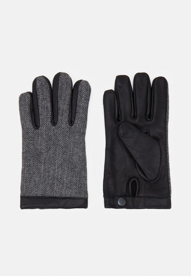 JACDAVID GLOVES - Gloves - light grey melange