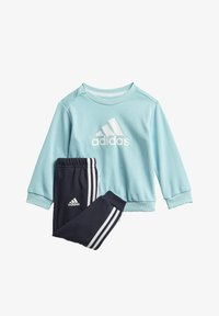 adidas Performance - BADGE OF SPORT FRENCH TERRY JOGGER - Chándal - blue - 0