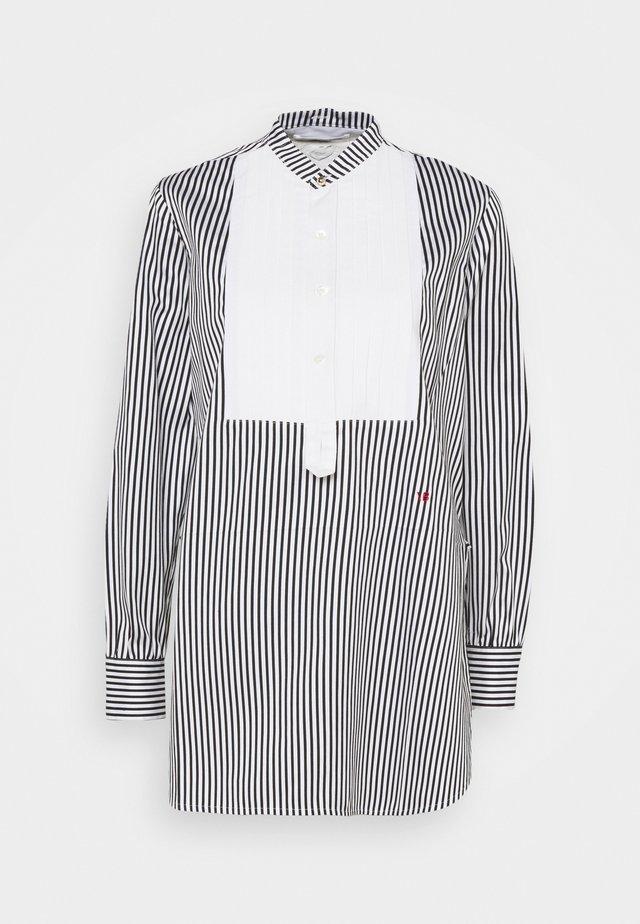 TUXEDO BIB - Camicia - black/ off white