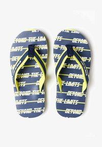 WE Fashion - T-bar sandals - dark blue - 0