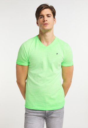 Basic T-shirt - green gecko