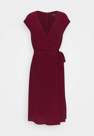 DRESS - Day dress - bordeaux red