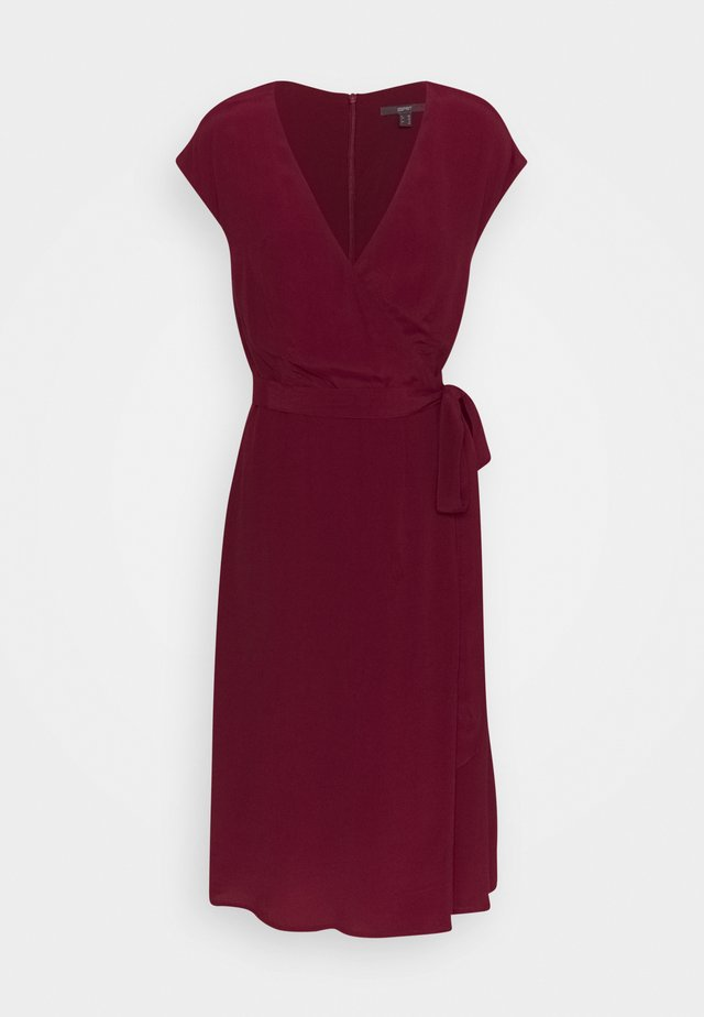 DRESS - Korte jurk - bordeaux red