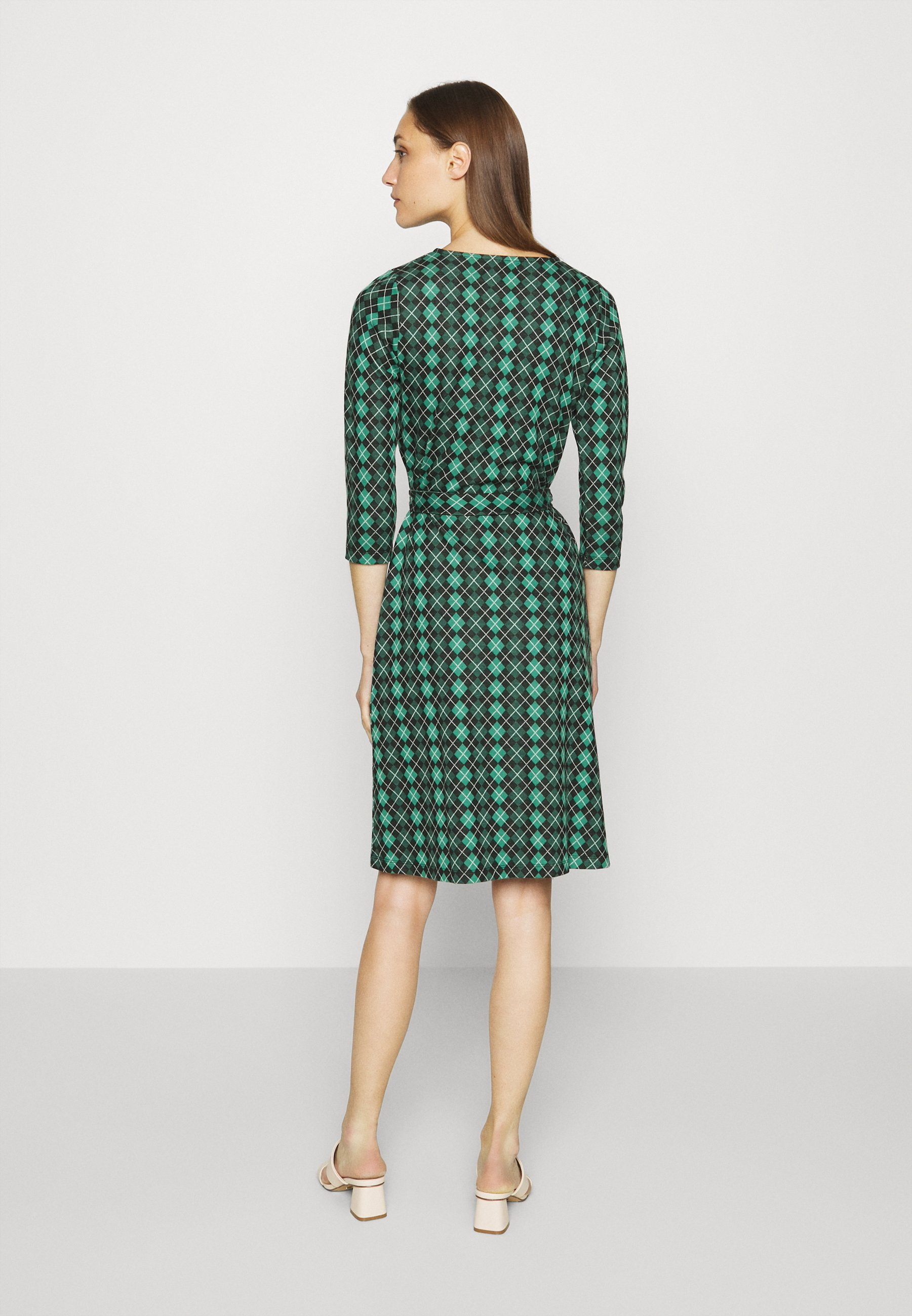King Louie HAILEY DRESS ABERDEEN Freizeitkleid fir green/türkis