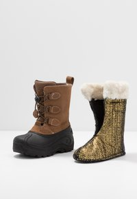 Kamik - SNOWDASHER - Winter boots - putty/beige - 5