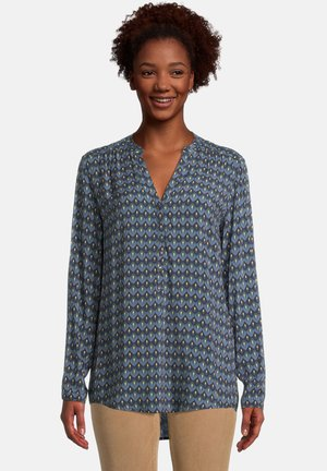 MIT MUSTER - Blouse - blue/petrol