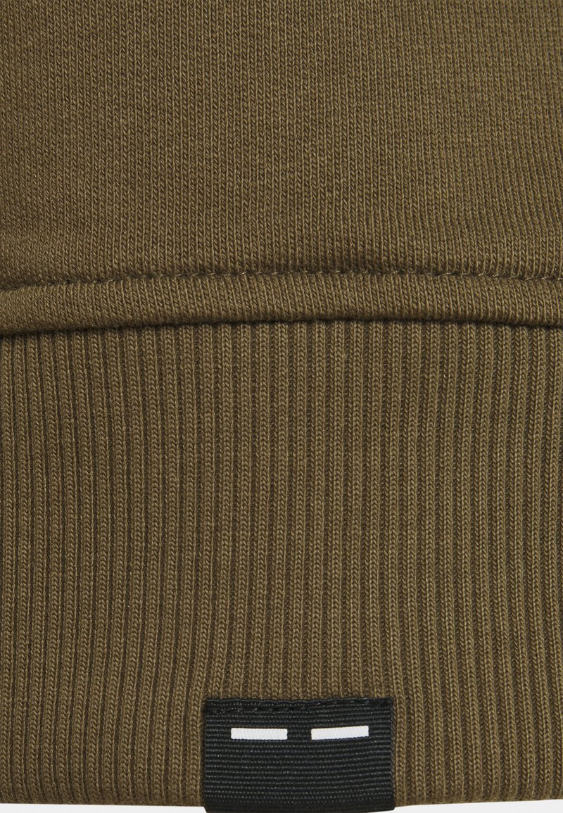 Samsøe Samsøe CREW NECK - Sweatshirt - dark olive/oliv-meliert bQPRKS