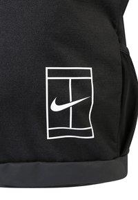 Nike Performance - COURT BACKPACK - Reppu - black/white - 6