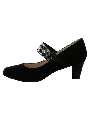 LENA - Peep toes - schwarz