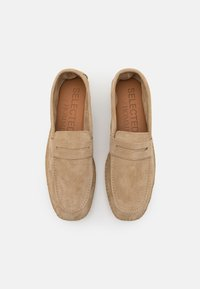Selected Homme - SLHAJO PENNY  - Espadrilles - sand - 3