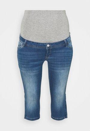 MLPIXIE CAPRI - Denim shorts - light blue denim