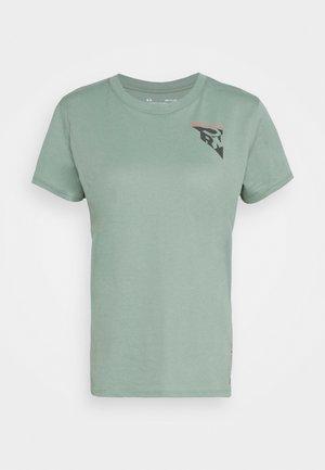 RUN ANYWHERE SHORT SLEEVE - T-shirts med print - green