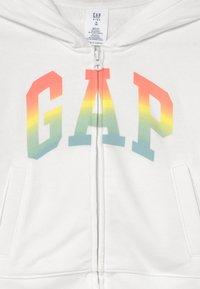 GAP - GIRLS WEDGE LOGO - Zip-up sweatshirt - new off white - 2