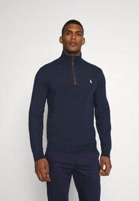 Polo Ralph Lauren Golf - LONG SLEEVE - Sweatshirt - medieval blue heather - 0