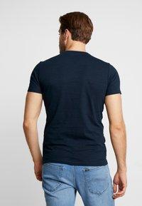 s.Oliver - KURZARM - Basic T-shirt - fresh ink melange - 2