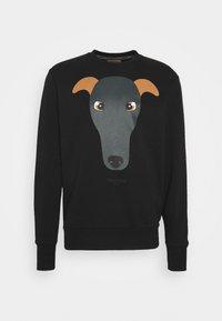 Trussardi - BRUSHED FLEECE REGU - Sweatshirt - black - 0