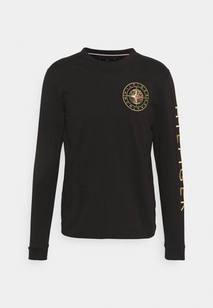 ICON ROUNDALL LONG SLEEVE - Pitkähihainen paita - black