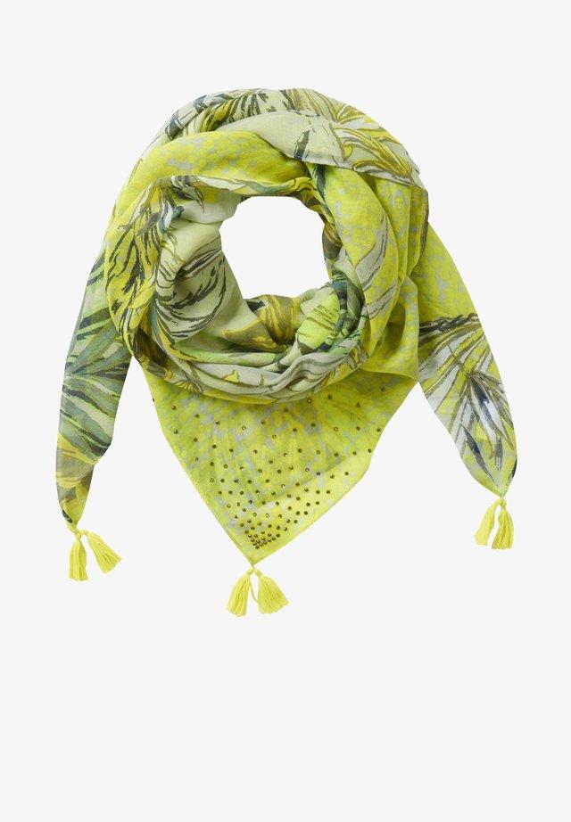 Écharpe - green/yellow