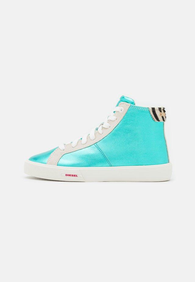 S-MYDORI MC W - Sneakersy wysokie - turquoise
