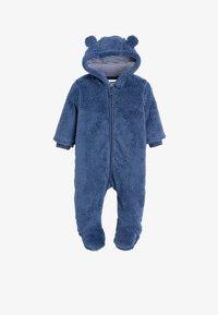 Next - FLEECE BEAR  - Pyžamo - blue - 0